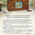 Vintage Magnavox Color TV Advertisement