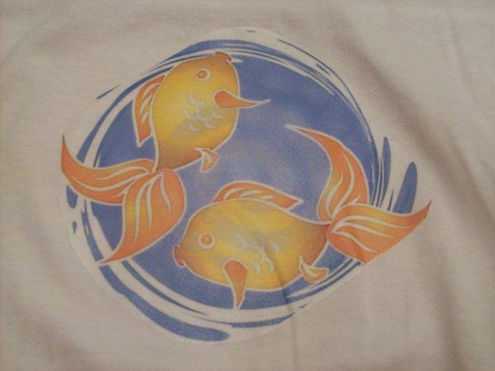 6-8, white, goldfish pond (cartoon)