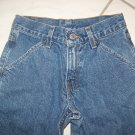 "GIRL'S LEVI'S RED TAG DENIM BLUE JEANS W24""x27"""
