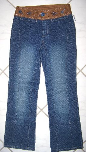 GIRL'S STRETCH HIPSTER JEANS BY LIZZIE MCGUIRE W26xL27