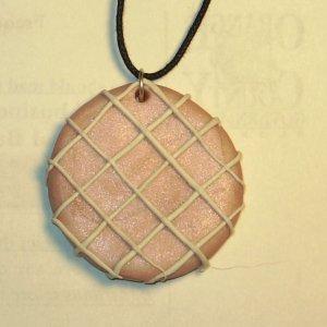 Pink Picnic Blanket Pendant