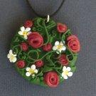 Bouquet of flowers pendant