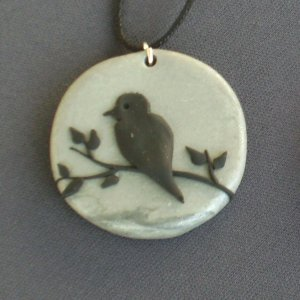 "Quote the Raven, ""Nevermore"" Pendant"