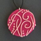 Swirls and Dots Pendant