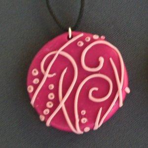 Swirls and Dots Pendant