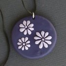 Violet and Lavender pendant
