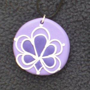 Shades of Purple Pendant