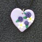 Purple Bouquet Pendant