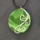Shades of Green Pendant