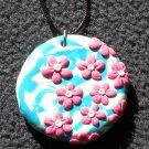 Bright daisy pendant
