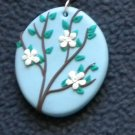 Tree on a sunny day pendant