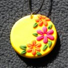 Bright Sunshine flower pendant