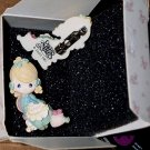 FREE SHIPPING Precious Moments little girl MOTHER pin jewelry by AVON