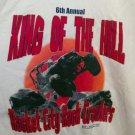 FREE SHIPPING Rocket City Rock Crawlers white T-shirt 6th Annual King of the Hill event XL New
