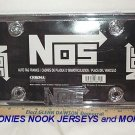 FREE SHIPPING NOS Auto Tag License Plate Frame Shiny Chrome Plated NEW in Wrap