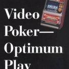 Video Poker-Optimum Play Dan Paymar Practical Skills Instructions 1998 Paperback