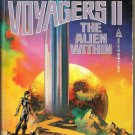 Voyagers II - The Alien Within by Ben Bova - Bantam Paperback 1986 like new