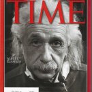 Time Magazine December 31, 1999 Person Of The Century Albert Einstein