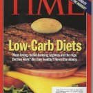 Time Magazine November 1, 1999 Low-Carb Diets
