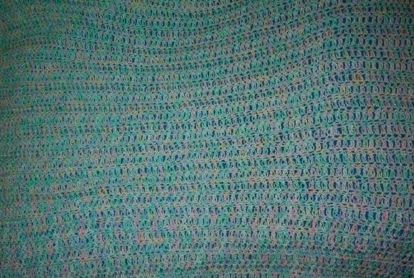 2 Skein Double Crochet Baby Blanket