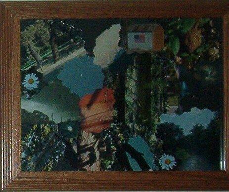"Custom Photo Collage 8"" x 10"" Framed"