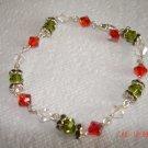Swarovski firel opal bracelet