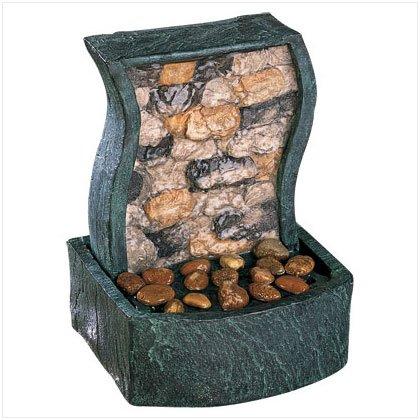 Rock Wall Tabletop Fountain