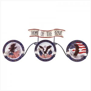 Bald Eagle Plate Set