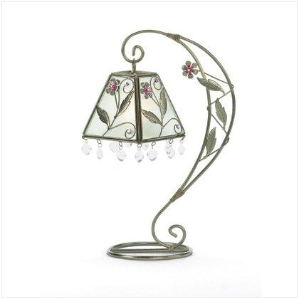 NEW! Flower Swirl candle Holder