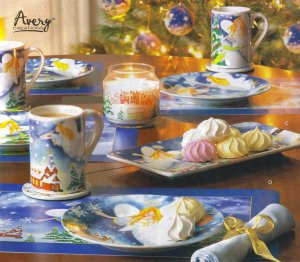 Christmas Angel Dinnerware Set