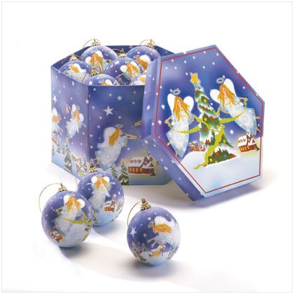 NEW! Christmas Angel Ornament Box Set