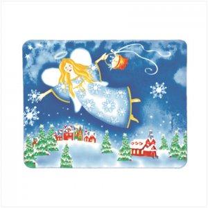 NEW! Christmas Angel Fleece Blanket