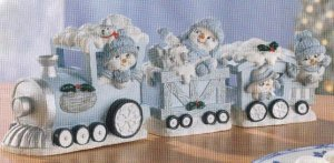 Snow Buddies Train Set
