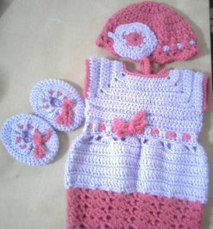 Precious in Purple Floral Dress set