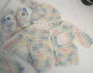 Tastes Like Cotton Candy Infant Layette Set- Special Order