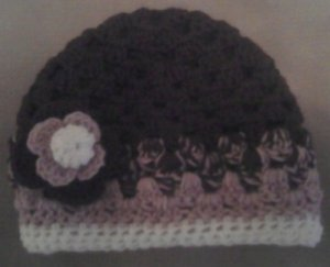 Chocolate Clusters Adult Winter Hat- Special Order