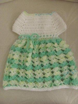 Short Sleeve Shelled Dress