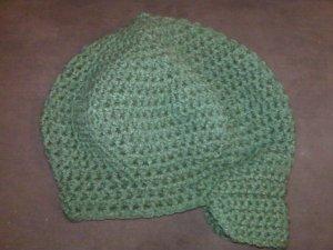 Women's Crochet Brimmed Caps