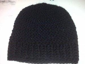 Men's Crochet Ribbed Skully Hat- Special Order