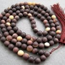 Tibet Buddhist 108 Zipao Jade Beads Prayer Mala Necklace  8mm  ZZ028