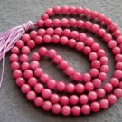 Tibet Buddhist 108 Jade Beads Prayer Mala Necklace 6mm  ZZ105