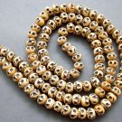 Tibet Buddhist 108 Ox Bone Skull Beads Prayer Mala Necklace  ZZ128