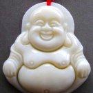 Sea Shell Tibet Buddhist Happy Fortune Buddha Amulet Pendant 35mm*30mm  T0730