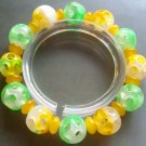 Jade Lu-Lu Tong All The Way OPen Beads Jewelry Bracelet  T0876