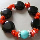 Mix Material Beads Jewelry Bracelet  T1391