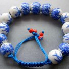 12mm Porcelain Beads Bracelet  T1836