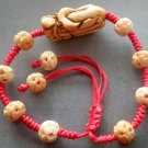 Ox Bone Carved Dragon Head Bead Beads Bracelet  1965