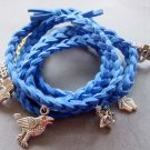 Hand Knited Vintage Style Disney Bracelet With Pendant  T1973