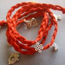 Hand Knited Vintage Style Disney Bracelet With Pendant  T1976