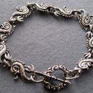 Alloy Metal Dragon Beads Bracelet  T1991